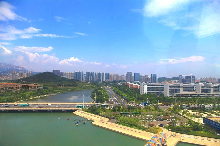 海峽兩岸記者來到青島 共同見證台青在青島的發展